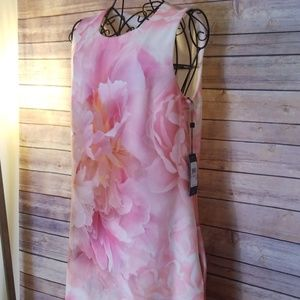 Tommy Hilfiger Dresses - NWT Tommy Hilfiger 6 pink floral lined dress